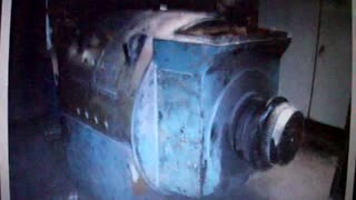 Ge General Electric 2000 HP DC Motor - Video