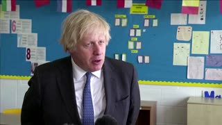 UK's Johnson optimistic about full reopening in June