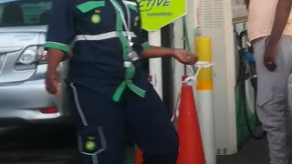 Dancing Drunk Attendant - Video