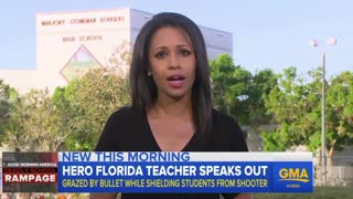 Hero Teacher Who Saved Students During School Massacre Said Shooter Was Dressed Like a Cop - Video