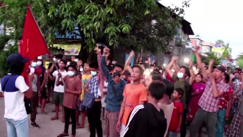 Candle vigil held for killed Myanmar protesters