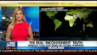 Chris Wallace confronts Al Gore about climate change theories