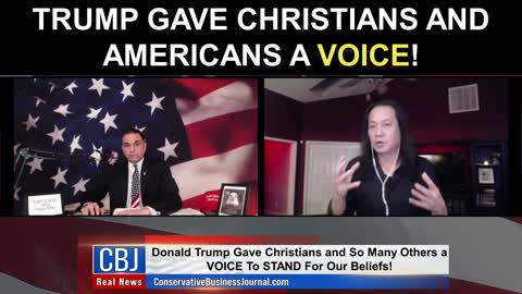 Trump Gave Christians And Americans A Voice!