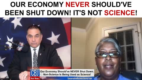 Our Economy NEVER Should've Been Shut Down! It's NOT Science!