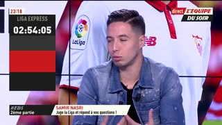 VIDEO: Samir Nasri chooses between Messi and Ronaldo. - Video