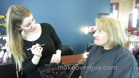 """MAKEOVER: Our Neighbor """"Cobblestone Annie,"""" by Christopher Hopkins, """"The Makeover Guy®"""""""