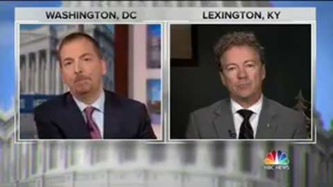 """Rand Paul on """"Meet the Press"""" speaks about Trump Tower deal"""