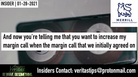 RETAIL INVESTOR LEAKS TAPE: Merrill Lynch Banker Admits Bank 'Takes Side of Institutional Investors'