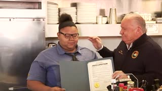 TSU surprises La Marque Waffle House worker with scholarship - Video