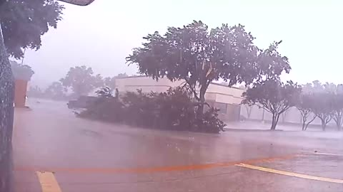 Texas Storm Quickly Rips Through Town