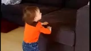 1 Year old Baby Laughing  - Video