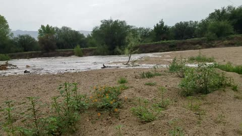 Major Wash Flooding Headwaters