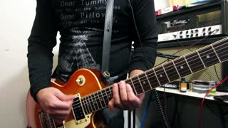 Electric guitar cover: 'Maps' by Maroon 5 - Video