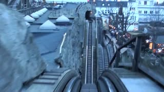 100 Year Old Roller Coaster In Denmark - Video