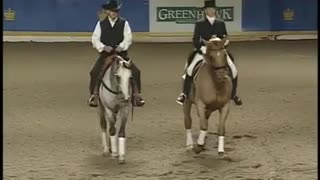 Cowboy and dressage rider face-off and prove, no matter the style, it's all about the horse - Video