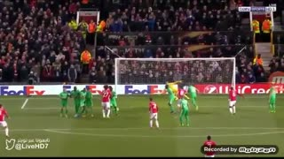 GOOOAL!! Zlatan Ibrahimovic free-kick goal vs Saint-Etienne - Video