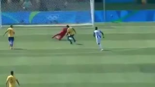 Neymar Goal - Brazil vs Honduras 1-0 - Video