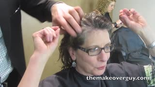 MAKEOVER! Reveal My Natural Gray Hair! by Christopher Hopkins, The Makeover Guy - Video
