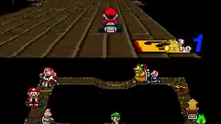 Super Mario Kart - Pete Plays - SNES - Video