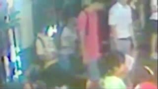 CCTV footage shows Bangkok blast suspect leaving rucksack on bench