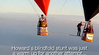 Blindfold Balloon Tightrope Walk - Video