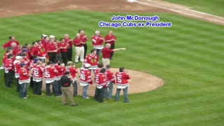 Chicago Blackhawks 2010 Stanley Cup Championship Celebration at Wrigley Field - Video