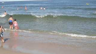 OCEAN FRONT VIEW AT OCEAN GROVE, NJ - New Jersey Shore Beach Travel - Video