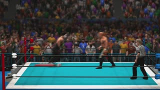 Dman4Life Plays - WWE 2K14: The Icon Sting vs. The Flash Wizard Keiji Mutoh - Video