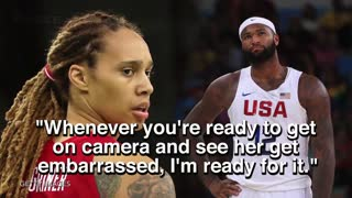 DeMarcus Cousins Gets Called Out By Brittney Griner To Play 1 On 1 - Video