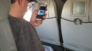 Guy Watches 9/11 Video Before Taking Off on Flight - Video