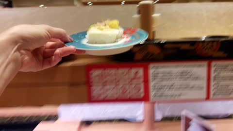 Express Sushi Boat in Japan is next generation type! Fun to order