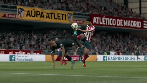 "EA Sports FIFA - Finally scored a ""Scorpion Kick"""