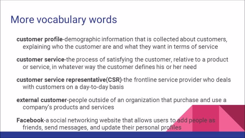 The World of Customer Service 3rd edition