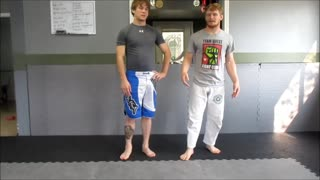 Front Quarter Nelson from Front Headlock - Wrestling and JiuJitsu Drill - Video