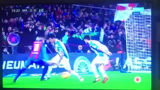 Neymar owns Epanyol players with a filthy skill - Video