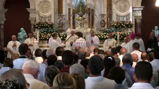 Pope ends historic trip to Cuba with Mass in Santiago - Video