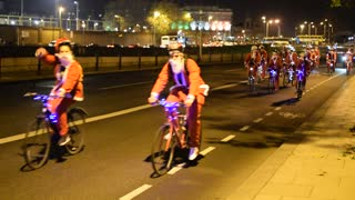 Cycling Santas - Video