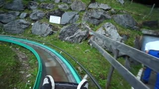 Switzerland Mountain Coaster - Video