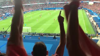Austrian fans pause national songs to chant 'Messi' in response to Ronaldo's 'dive' - Video
