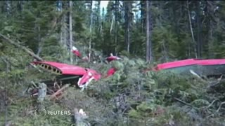 Four Britons among six dead in Canada plane crash - Video
