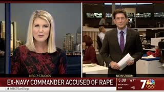 Navy Officer Charged With Rape Claims 'Bizzarro-World' Made Him Ignore Her Pleas to Stop - Video