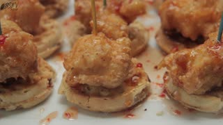 How To Make Mini Chicken Waffle's - Full Recipe - Video