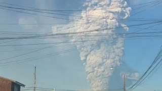 Volcano Erupts in Southern Chile, Locals Evacuated
