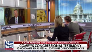 Mark Meadows warns Comey's problems are just getting started