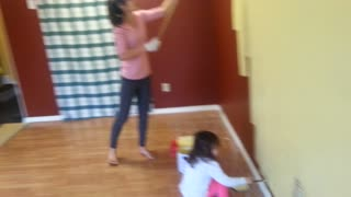 Mother Annoyed The Father Won't Do The House Painting!  - Video