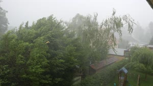 Incredible hailstorm footage captured in Germany - Video