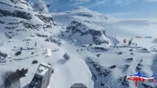 Star Wars Battlefront: ATAT gameplay with commentary