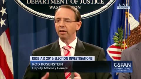 Rosenstein says timing has nothing to do with Trump Putin meeting