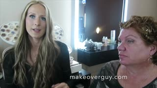 MAKEOVER: Long and Straight to Short and Curly, by Christopher Hopkins, The Makeover Guy®