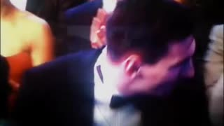 Messi kissing his wife antonella after the game - Video